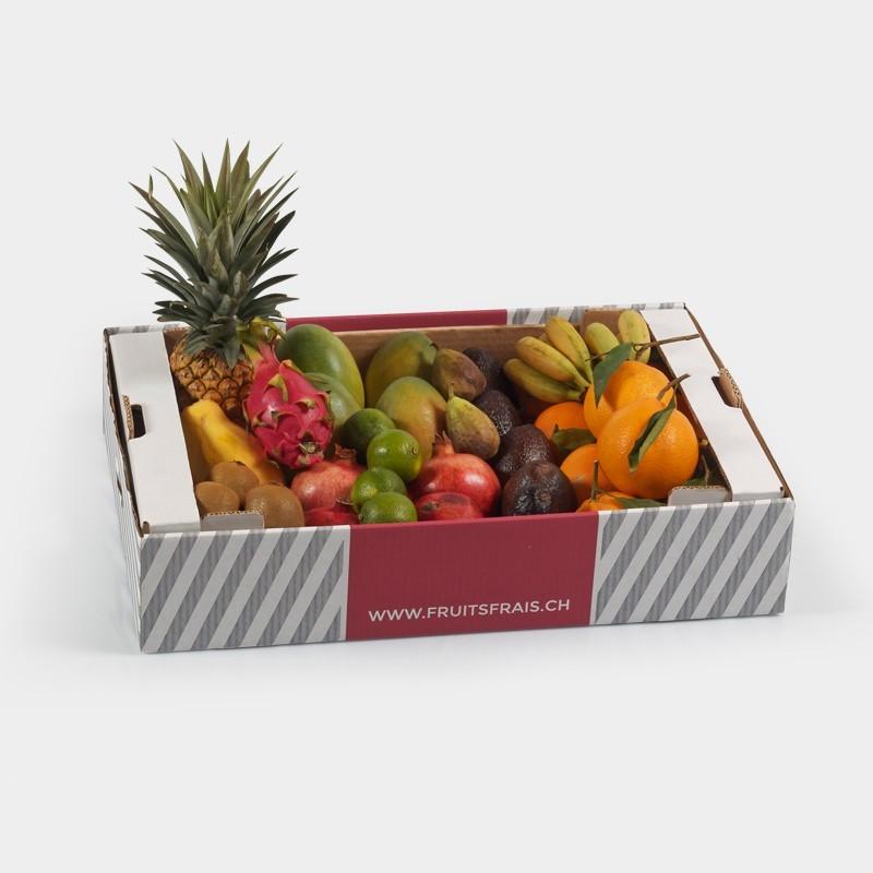 Box de fruits Exotique