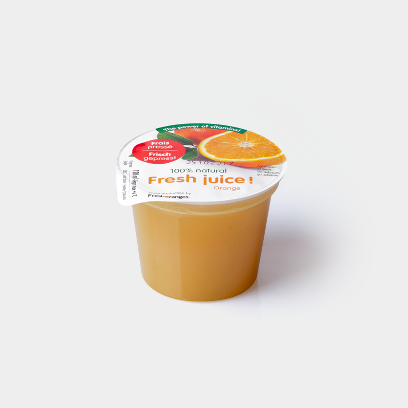 Jus d'orange frais 1,2dl
